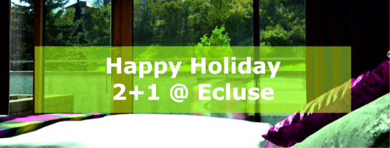 2+1 Holidays @ Ecluse