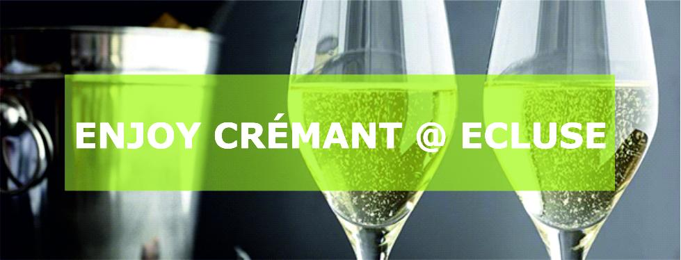 Enjoy Crémant @ Ecluse / currently not available